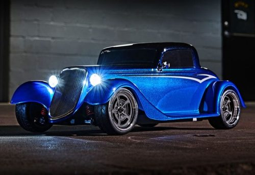 Traxxas - Factory Five 1933 Hot Rod Coupe # 93044-4-BLUE